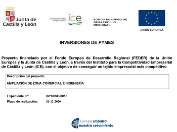 Proyecto de Inversión de PYMES CyL